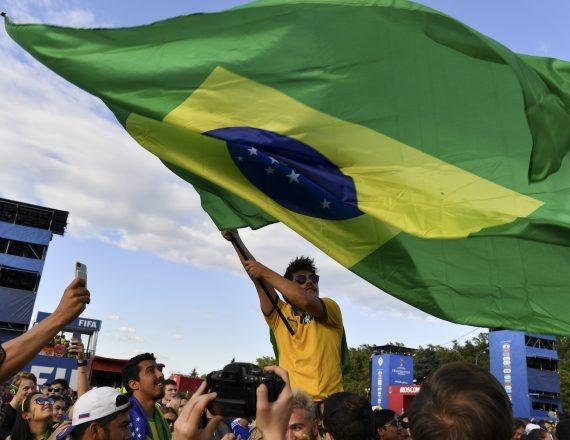 אוהדי נבחרת ברזיל