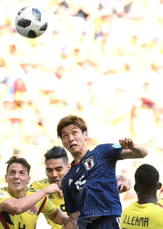 קולומביה מול יפן