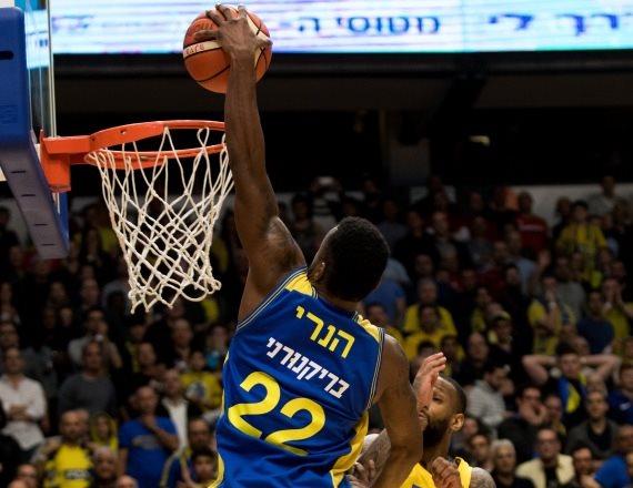 מכבי אשדוד בימים טובים יותר בליגת העל בכדורסל
