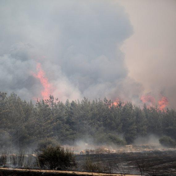 גל שריפות ברחבי הארץ