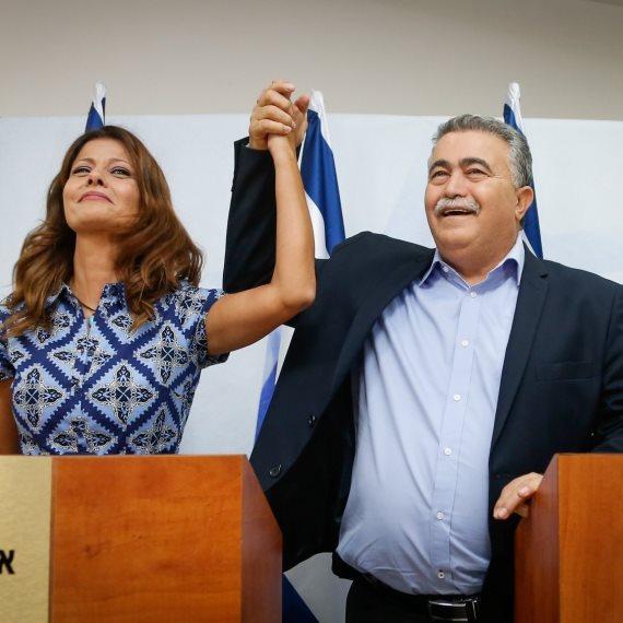 עמיר פרץ ואורלי לוי אבקסיס