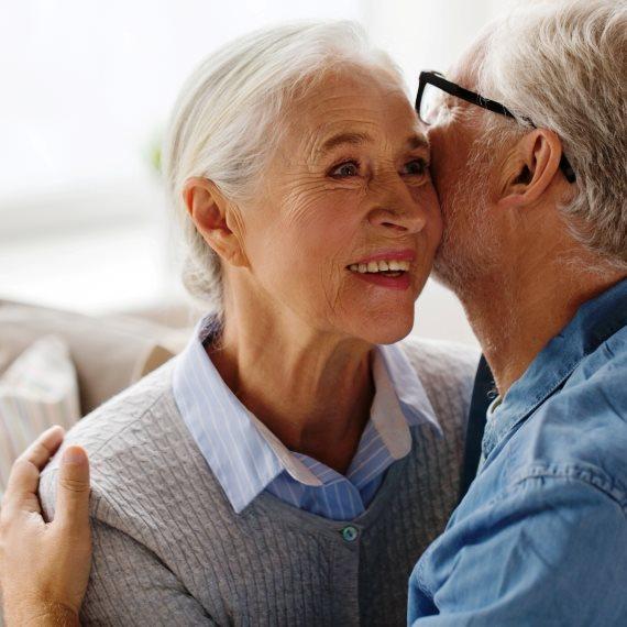 זוגיות, גם בגיל מבוגר