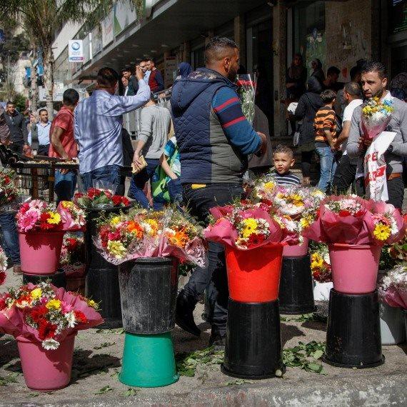 דוכן למכירת פרחים