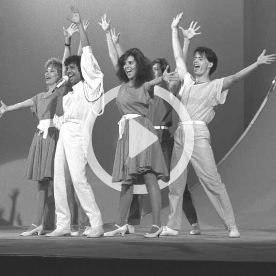 יזהר כהן ולהקתו בקדם האירוויזיון, 1985