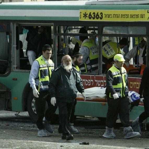 """""""אנשים שוכחים שאוטובוסים התפוצצו פה"""". פיגוע באוטובוס ב-2004"""