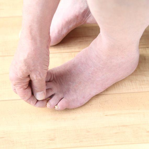 היגיינת כפות הרגליים