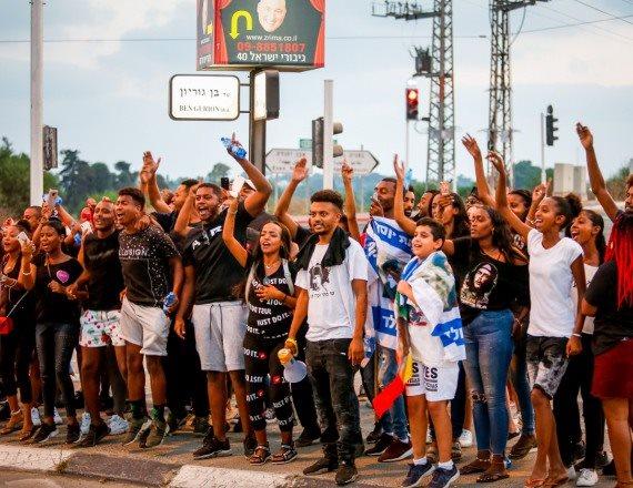מחאתם של יוצאי אתיופיה