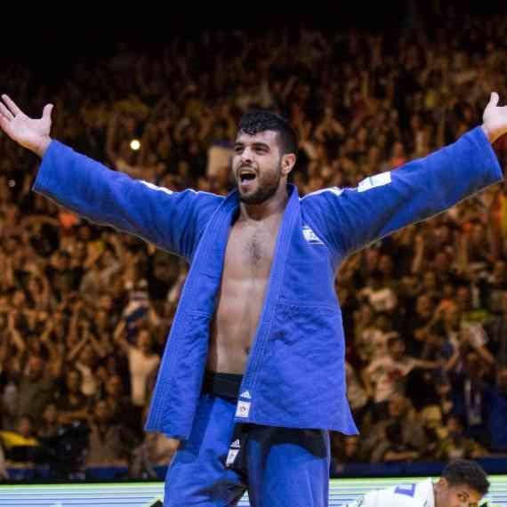 שגיא מוקי זכה במדליית זהב באליפות העולם