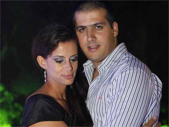 מיכל לוי ובעלה המנוח אבירם