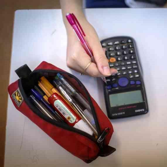 ילדים בשיעור מתמטיקה