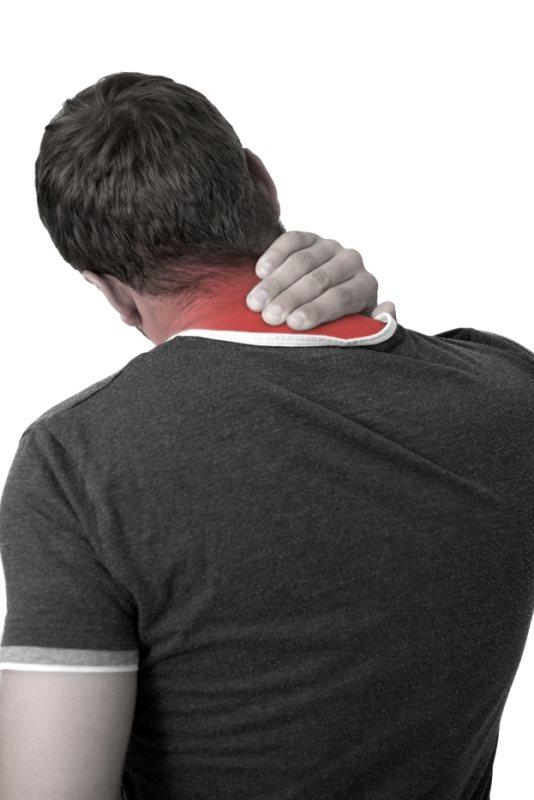 צוואר כואב