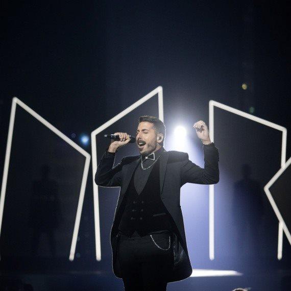 קובי מרימי לפני ארבעה חודשים באירוויזיון