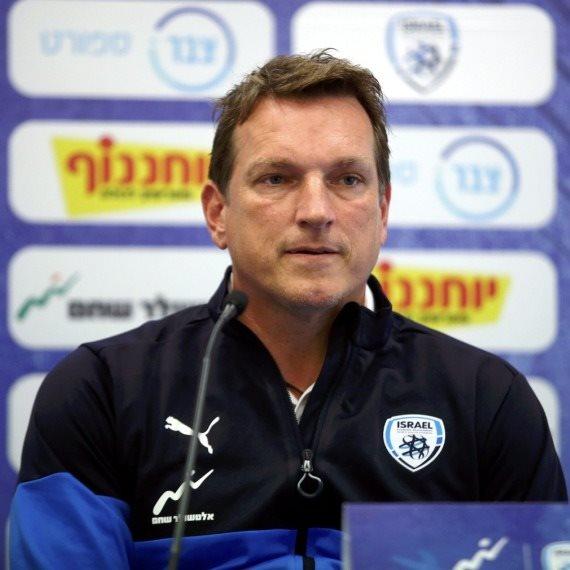 מאמן נבחרת ישראל אנדי הרצוג