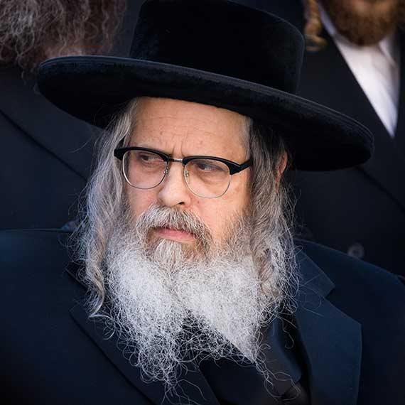 הרב לייב בישראל, בחודש שעבר