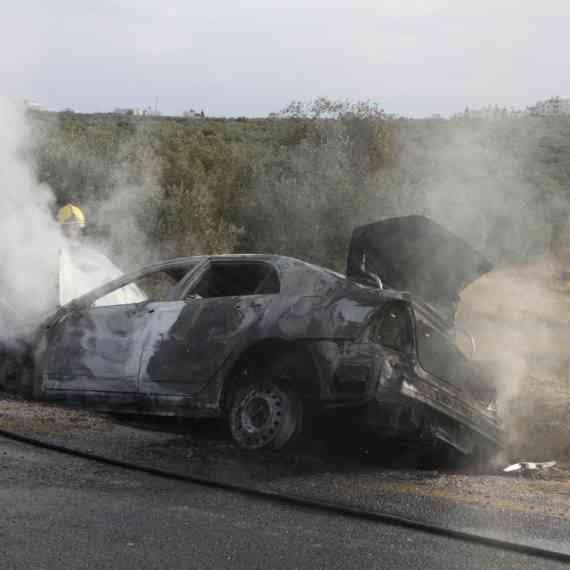 צילום אילוסטרציה: מכונית שרופה