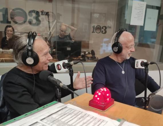 דוד קריבושי וקובי אשרת - Live באולפן