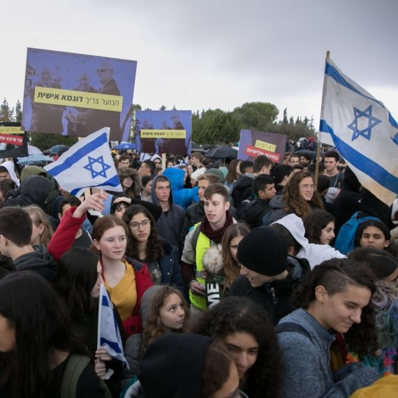 מחאת בני הנוער נגד מערכת בחירות שלישית