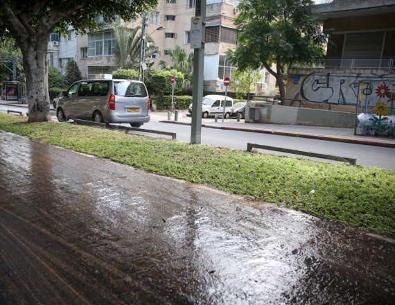 הגשם שוב כאן