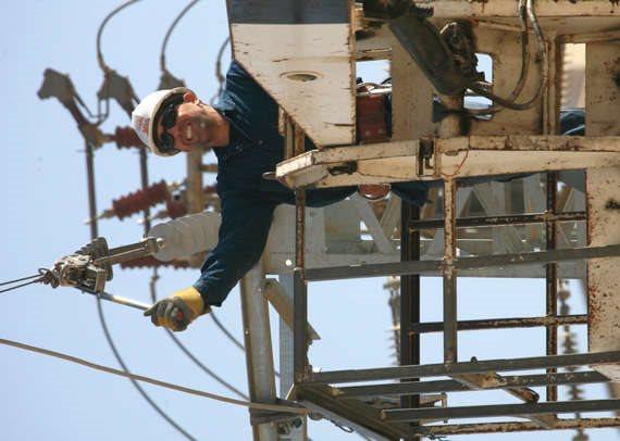 טכנאי של חברת החשמל