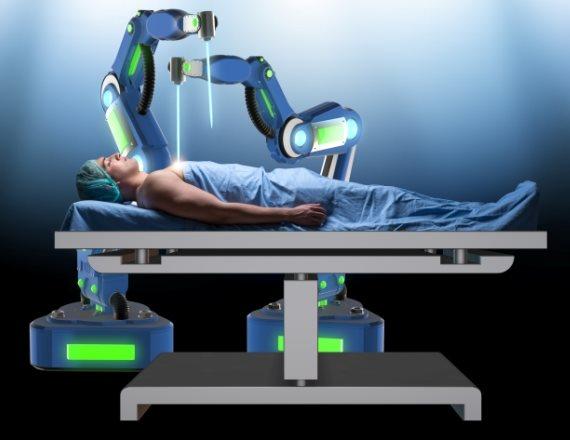 רובוט מאבחן מחלות (אילוסטרציה)