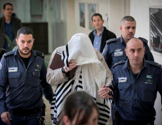 צילום ארכיון - אליעזר ברלנד במעצר