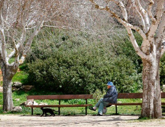 איש על ספסל (למצולם אין קשר לסיפור)