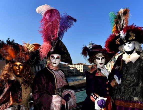 פסטיבל המסכות בוונציה, שלא יתקיים השנה בעקבות היסטרית הקורונה