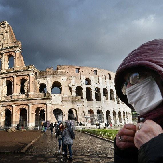 וירוס הקורונה - רומא איטליה