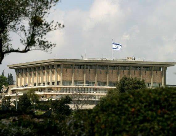 המפגינים בדרכם לכנסת ישראל