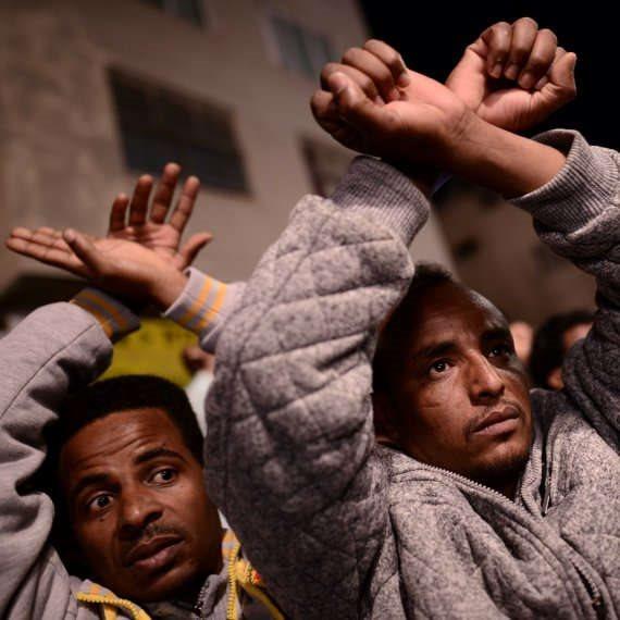 """מהגרים מאפריקה בדרום ת""""א"""