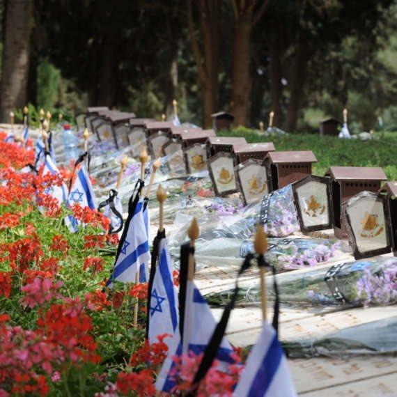 יום הזיכרון בסימן נגיף קורונה