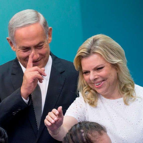 ראש הממשלה בנימין נתניהו ורעייתו שרה נתניהו