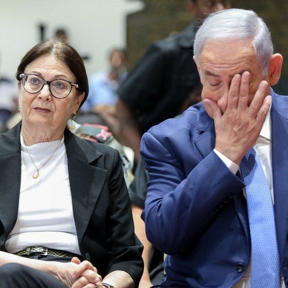 השופטת אסתר חיות וראש הממשלה בנימין נתניהו (ארכיון)