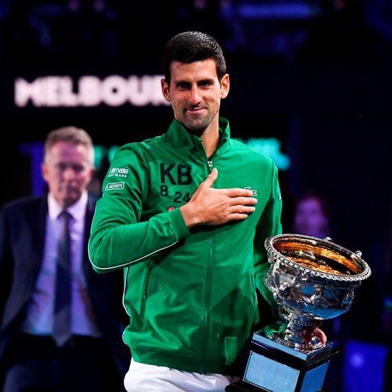 נובאק גוקוביץ (זוכה באליפות אוסטרליה פברואר 2020)