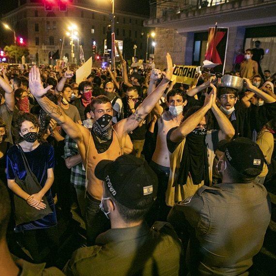 הפגנות המחאה אמש