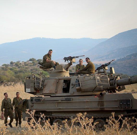 הערכות הצבא בגבול הצפון