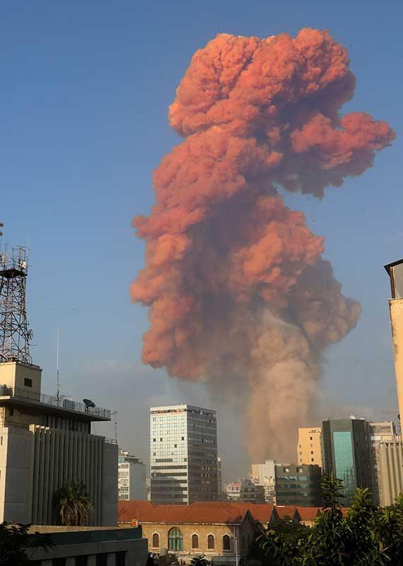 הפיצוץ בלבנון, אמש