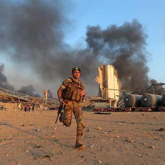 הפיצוץ בלבנון
