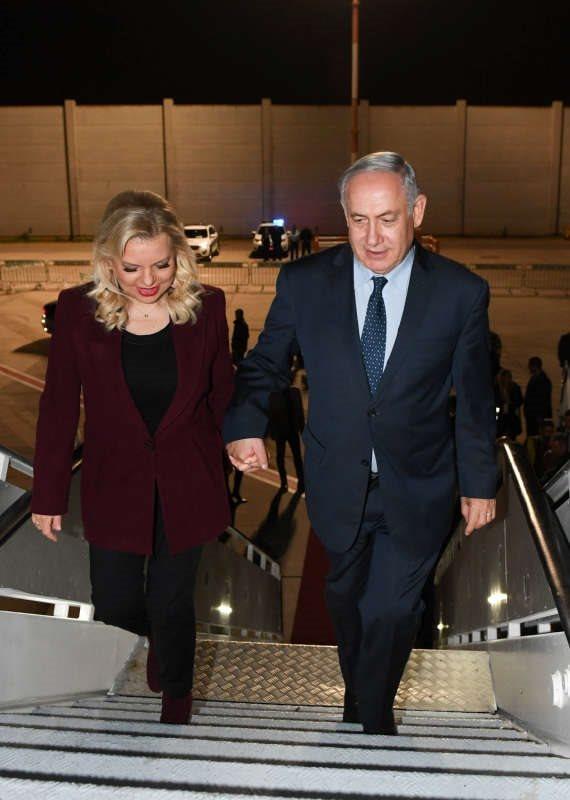 ראש הממשלה ורעיתו, שרה