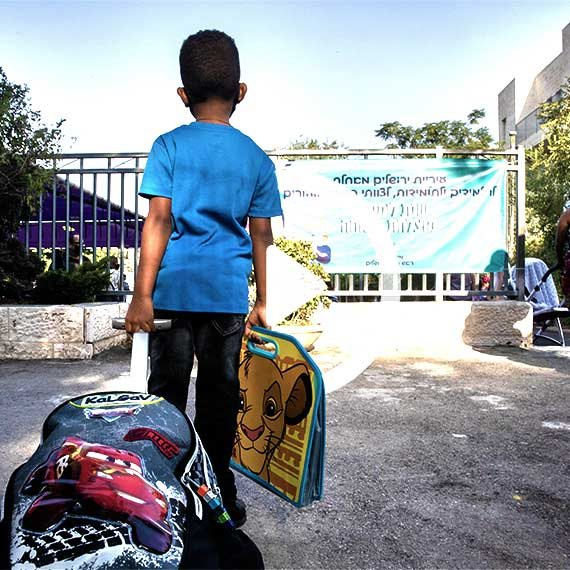 החזרה ללימודים בירושלים, בשבוע שעבר