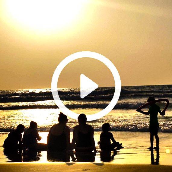 חוף ראשון לציון, בסוף השבוע
