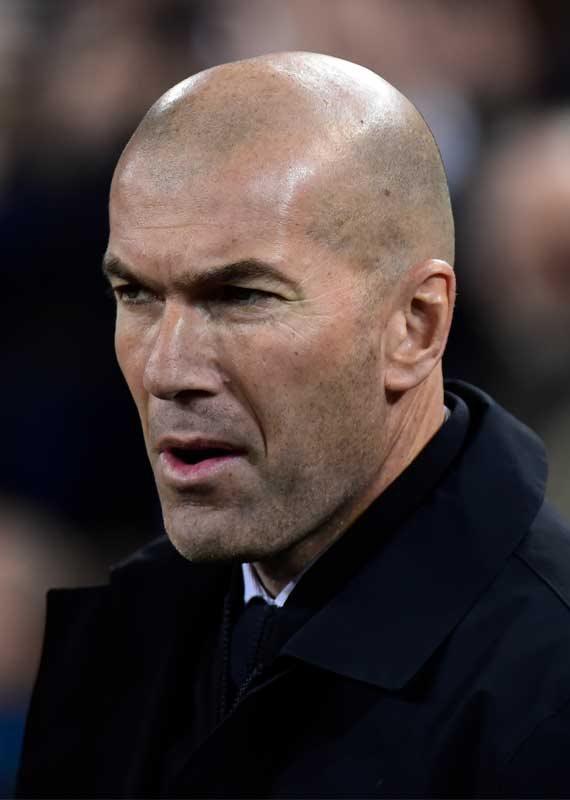 מאמן ריאל מדריד זינאדין זידאן