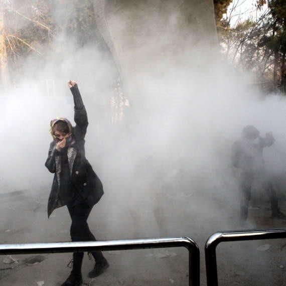 מפגינה באיראן (ארכיון)