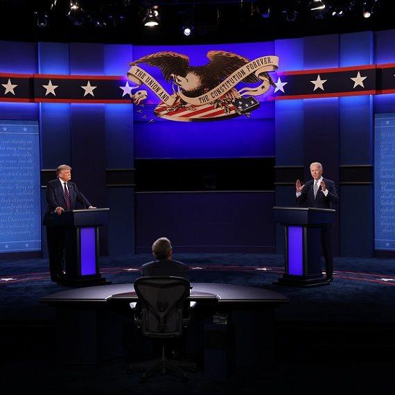 העימות הנשיאותי בין ג'ו ביידן לדונלד טראמפ