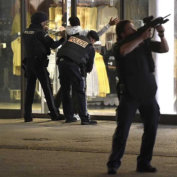 כוחות משטרה בווינה, הלילה