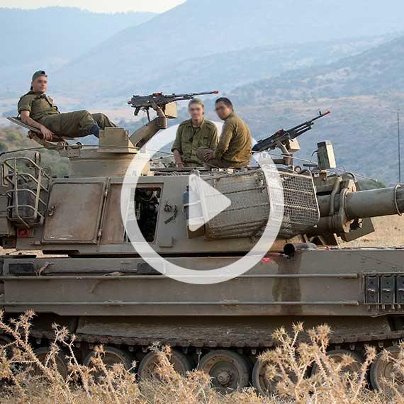 """לוחמי צה""""ל בגבול ישראל-לבנון"""