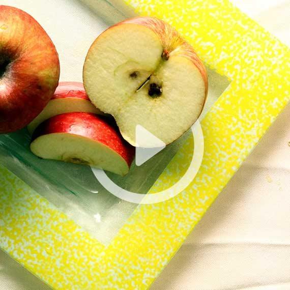 תפוחים כחול לבן