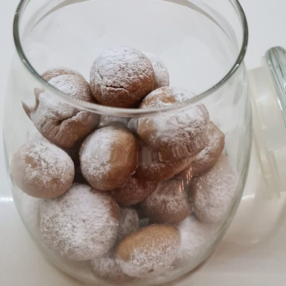 עוגיות האגוזים של אורנה