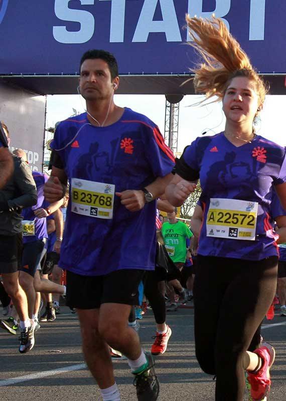 הפעם לא ביחד. מרתון תל אביב