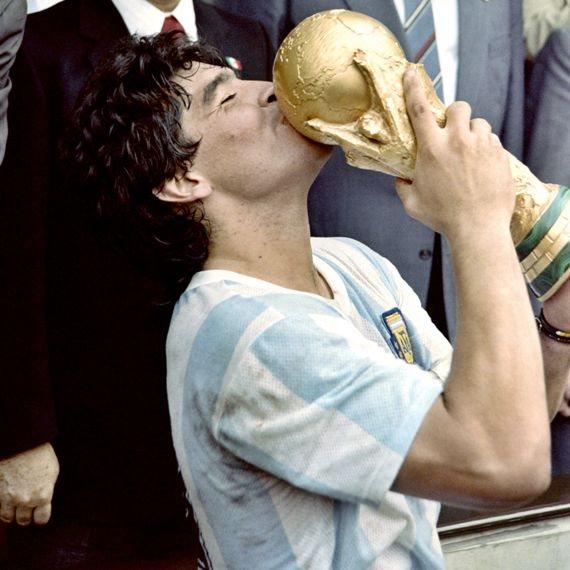 דייגו ארמנדו מראדונה, בגביע העולם